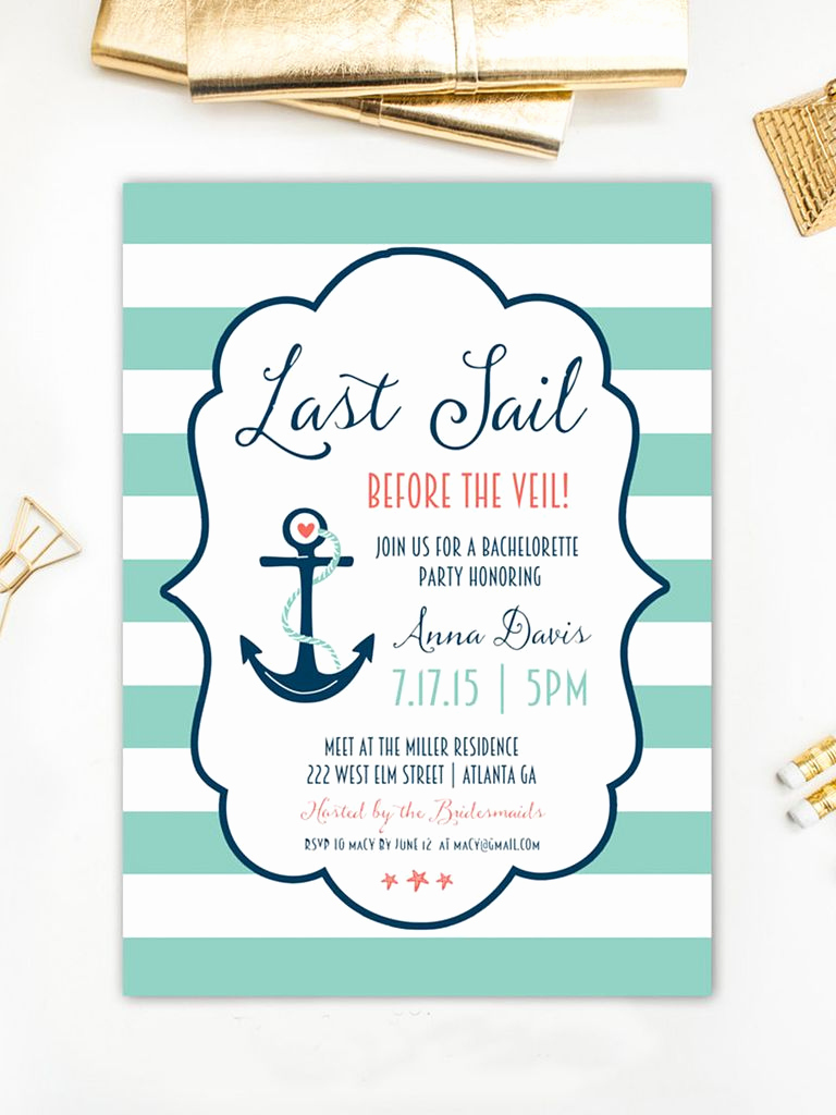 Bachelorette Party Invitation Templates Fresh 14 Printable Bachelorette Party Invitation Templates