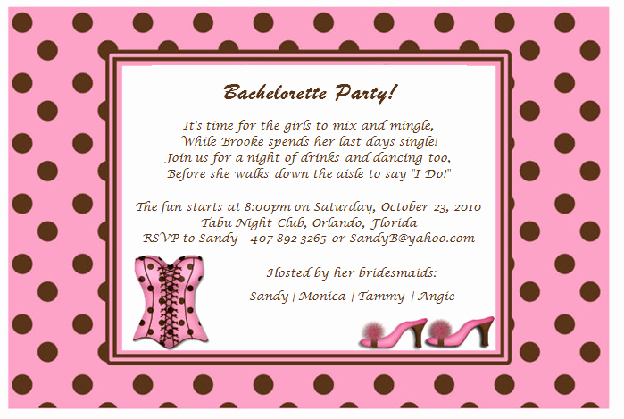 Bachelorette Party Invitation Wording Elegant Quotes for Bachelorette Party Invitations Quotesgram