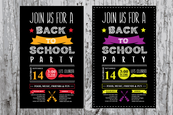 Back to School Invitation Luxury Back to School Party Invitation Invitation Templates On