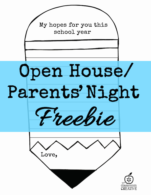 Back to School Night Invitation Awesome This is A Great Activity for Open House or Parents Night