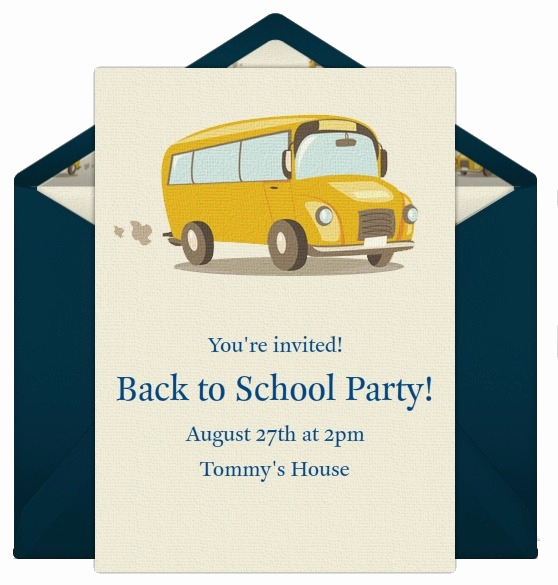 Back to School Night Invitation Best Of Invitations for Your Back to School Party