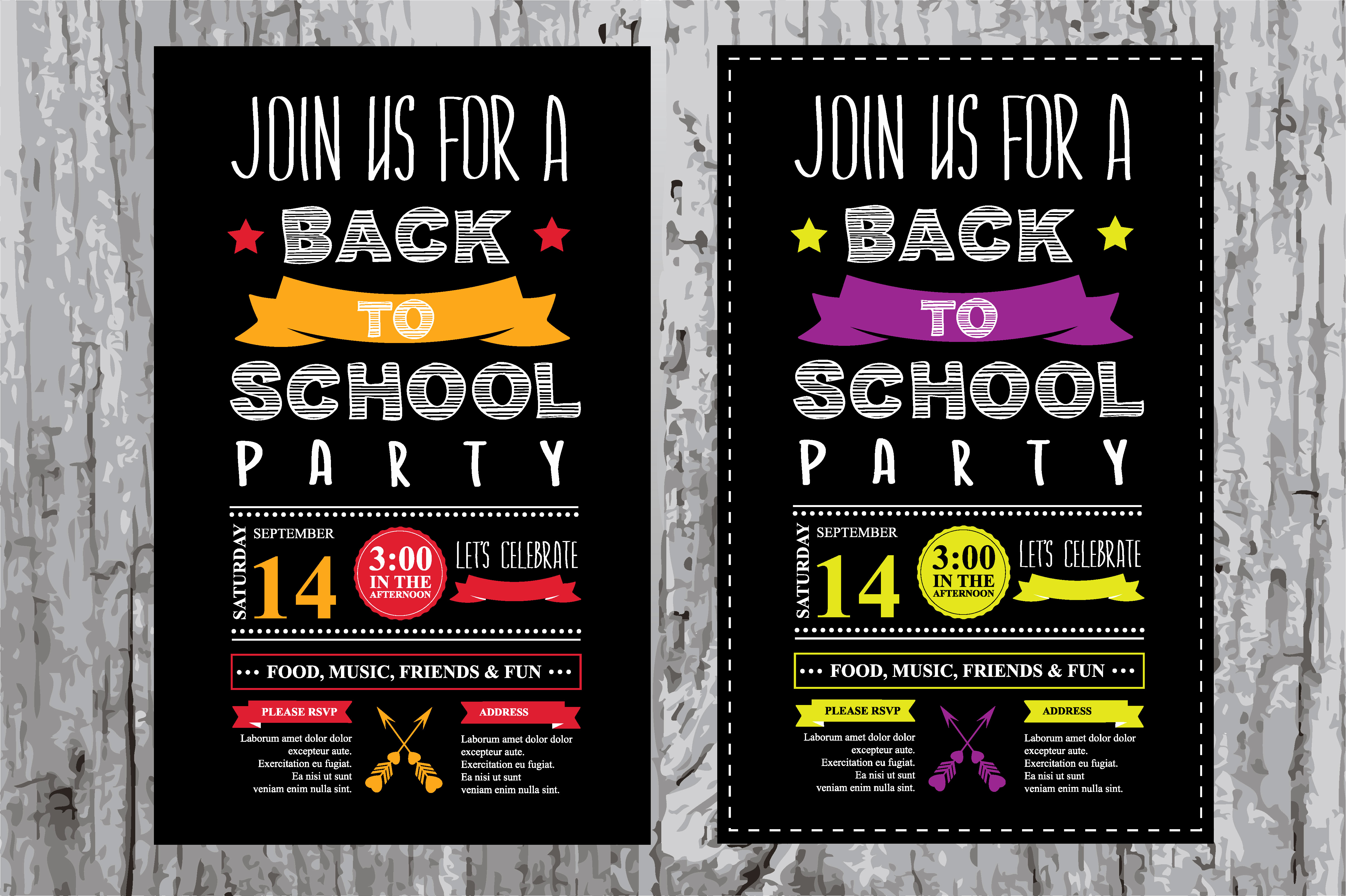 Back to School Party Invitation Unique Back to School Party Invitation Invitation Templates On
