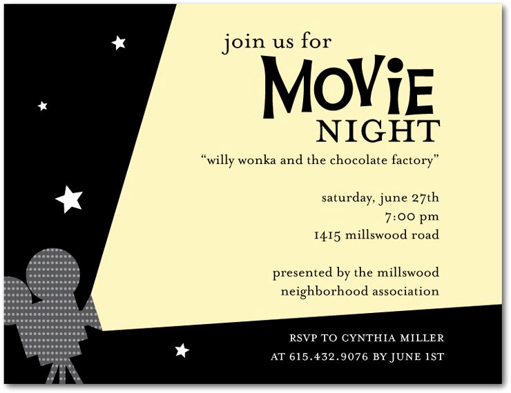 Backyard Movie Night Invitation Beautiful Best Summer Movies for Kids