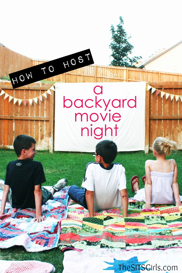Backyard Movie Night Invitation Lovely Outdoor Movie Night Invitation Template