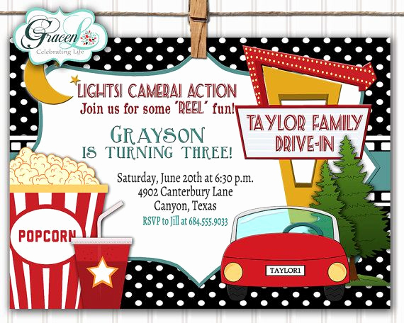 Backyard Movie Night Invitation Luxury Best 25 Movie Night Invitations Ideas On Pinterest