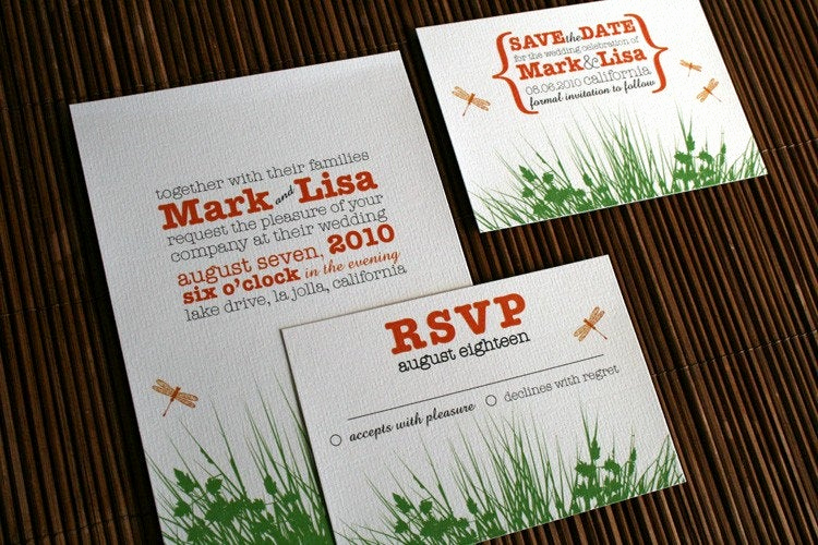 Backyard Wedding Invitation Wording Elegant Backyard Garden Wedding Invitation