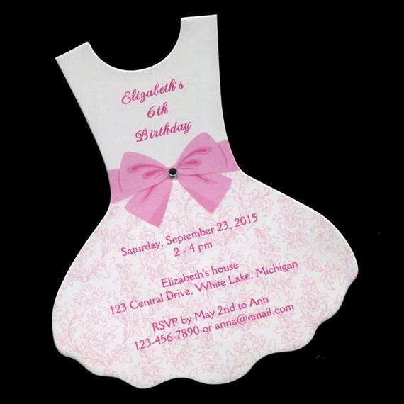 Ballerina Tutu Invitation Template Lovely Personalized Birthday Party Invitations Dress Ballet Tutu