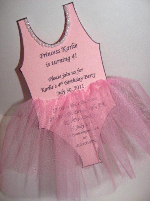 Ballerina Tutu Invitation Template Unique 17 Best Images About Princess Tea Party Ideas On Pinterest