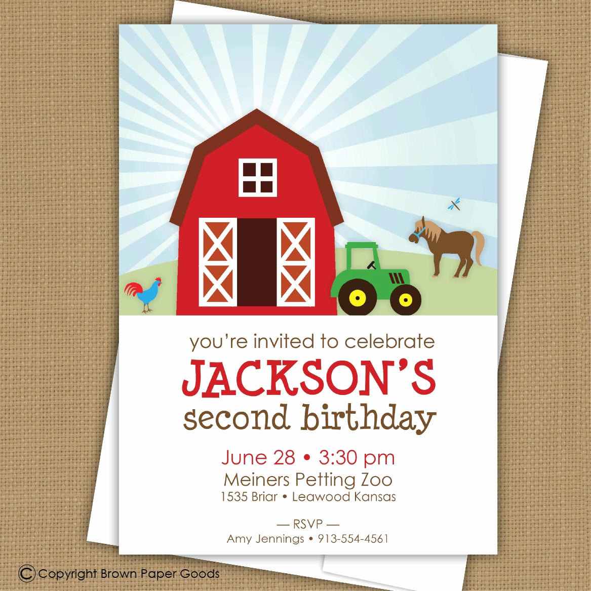 Barnyard Birthday Invitation Templates Awesome Farm Birthday Invitation Barnyard Invitation
