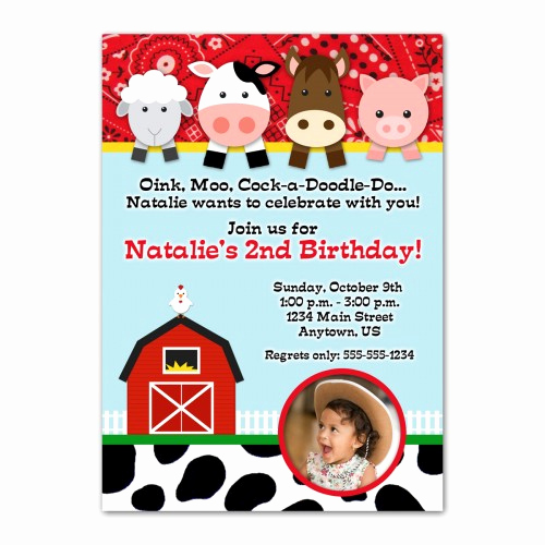 Barnyard Birthday Invitation Templates Elegant Best S Of Farm Invitation Template Farm Birthday