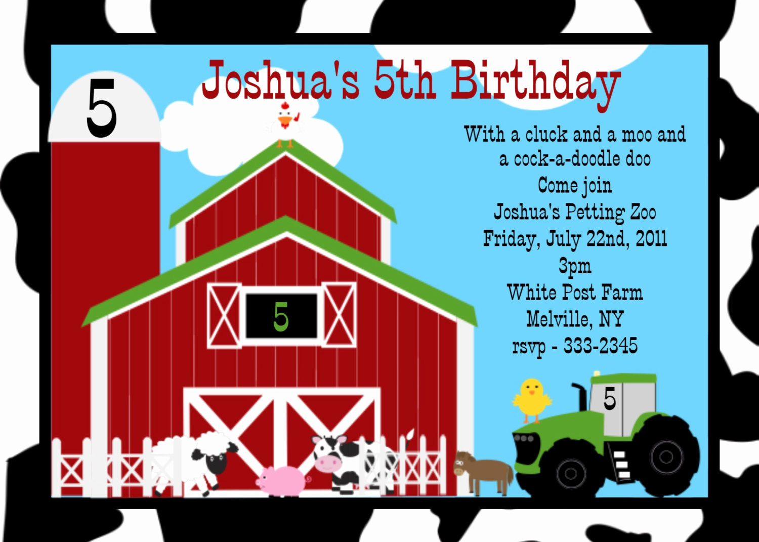 Barnyard Birthday Invitation Templates Elegant Farm Birthday Invitations Ideas – Bagvania Free Printable