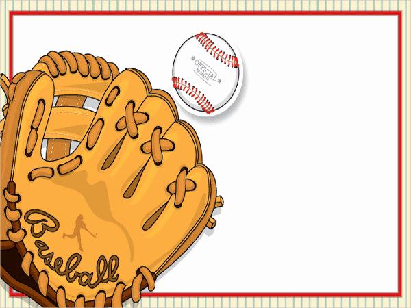 Baseball Invitation Template Free Beautiful 11 Baseball Party Invitation Design Templates Psd Ai