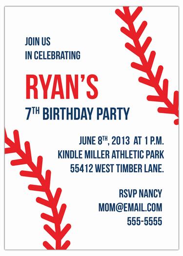 Baseball Invitation Template Free Fresh My Baseball Birthday Invitation