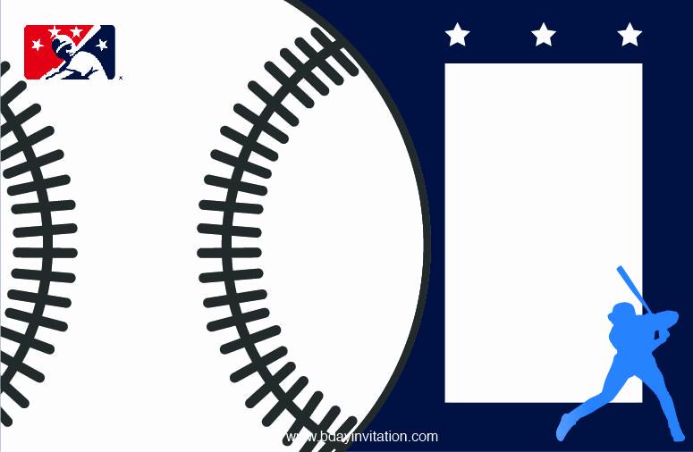 Baseball Invitation Template Free Inspirational Nice Free Printable Baseball Birthday Invitation Template