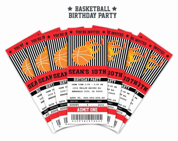 Basketball Ticket Invitation Template Best Of Best 25 Basketball Tickets Ideas On Pinterest