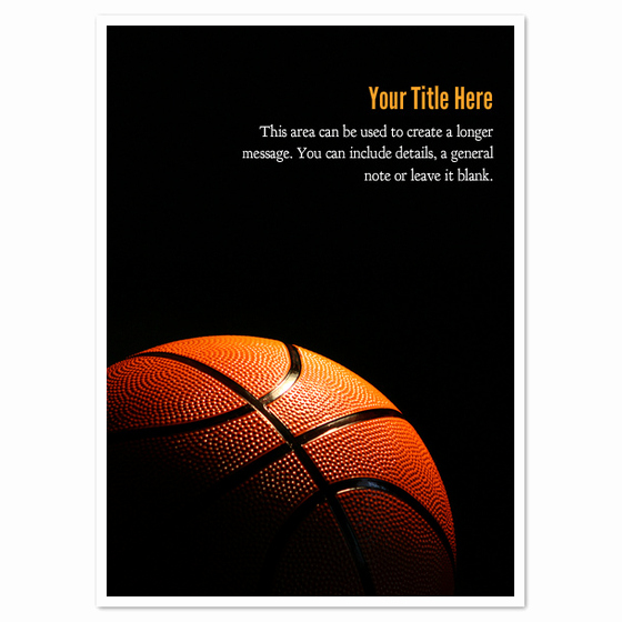 Basketball Ticket Invitation Template Free Elegant Basketball In Shadow Invitations & Cards On Pingg