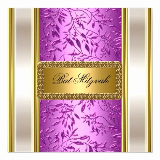 Bat Mitzvah Invitation Wording Best Of Bat Mitzvah Invitations 5400 Bat Mitzvah Announcements