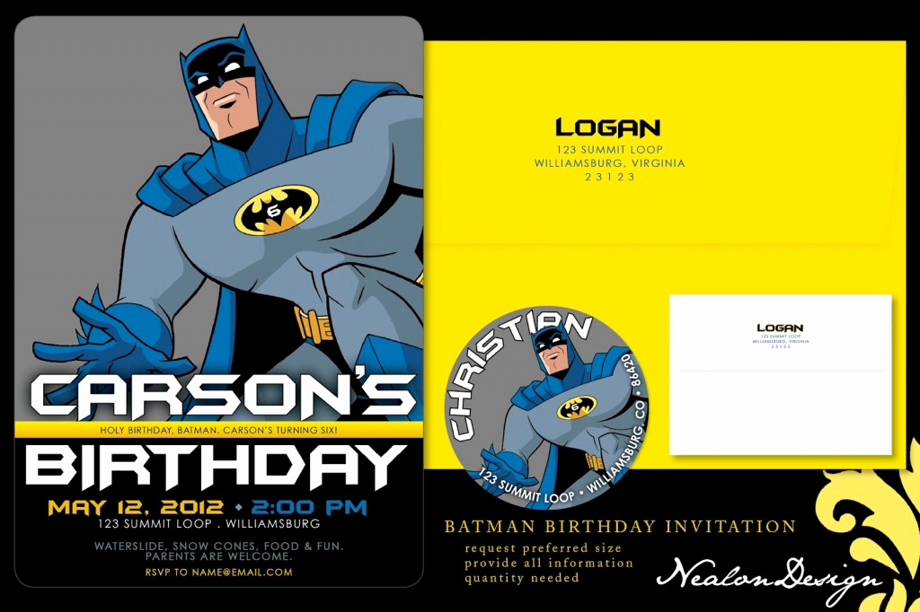 Batman Birthday Invitation Templates Beautiful Batman Birthday Invitations Ideas – Free Printable