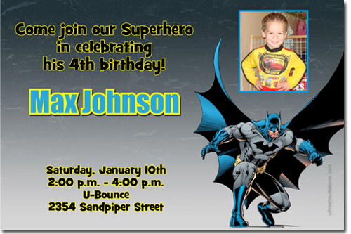 Batman Birthday Invitation Templates Beautiful Batman Birthday Invitations Super Hero Birthday