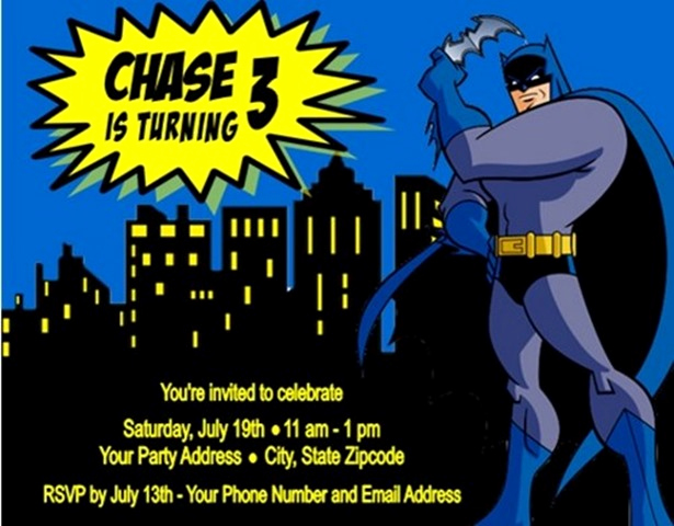 Batman Birthday Invitation Templates Fresh 14 Batman Birthday Party Ideas to Plan A Perfect Batman