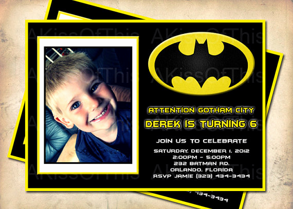 Batman Birthday Invitation Templates Fresh Batman Birthday Invitations Ideas – Free Printable