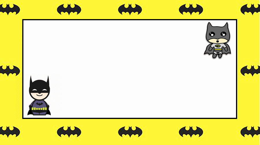 Batman Birthday Invitation Templates New Batman Free Printable Invitation Templates