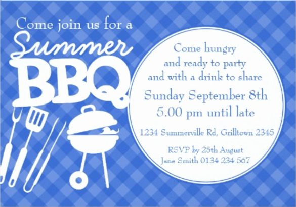 Bbq Invitation Template Word Awesome 32 Barbeque Invitation Templates Psd Word Ai