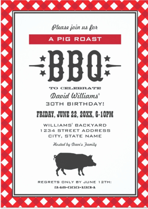Bbq Invitation Template Word Awesome Braai Invitation Cards