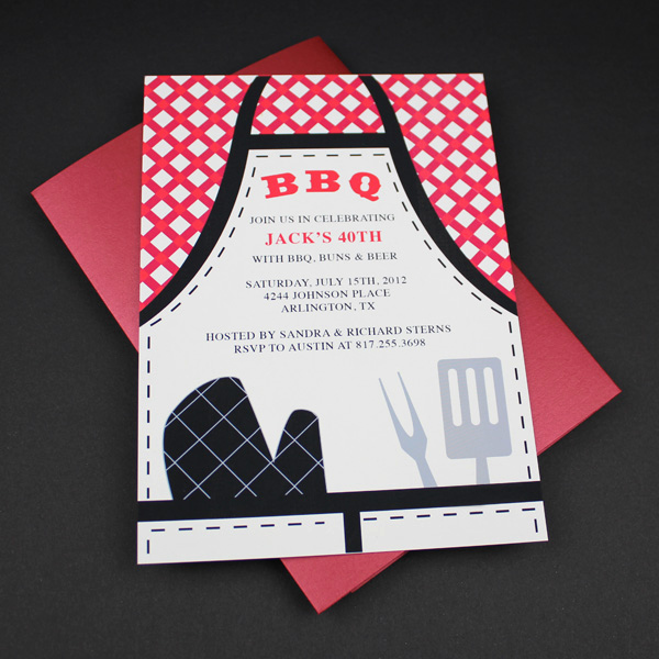 Bbq Invitation Template Word Best Of Invitation Template – Bbq Apron Invitation – Download & Print