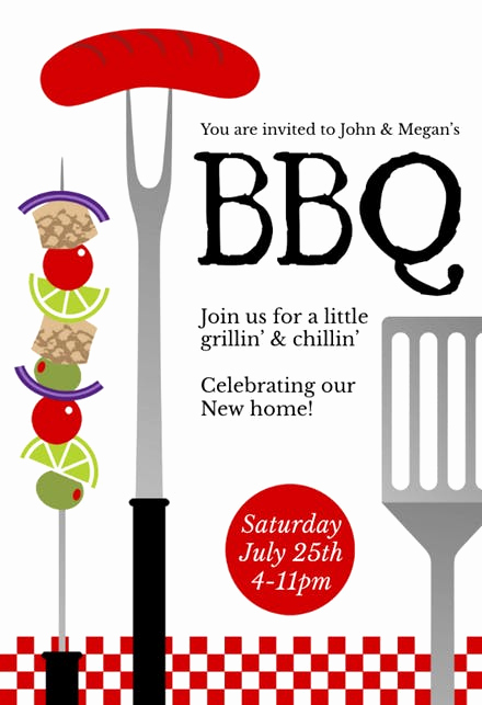 Bbq Invitation Template Word Luxury Bbq Party Invitation & Flyer Templates Free