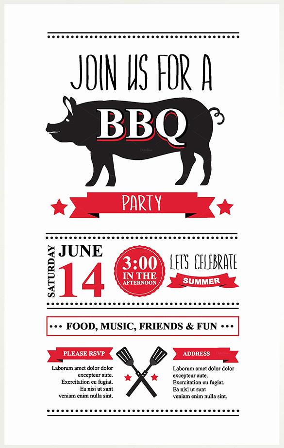 Bbq Invitation Template Word New 38 Lunch Invitation Templates Psd Ai Word