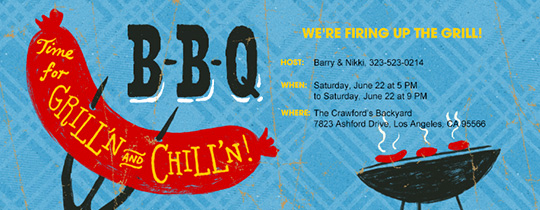 Bbq Invitation Wording Funny Awesome Free Line Bbq Invitations