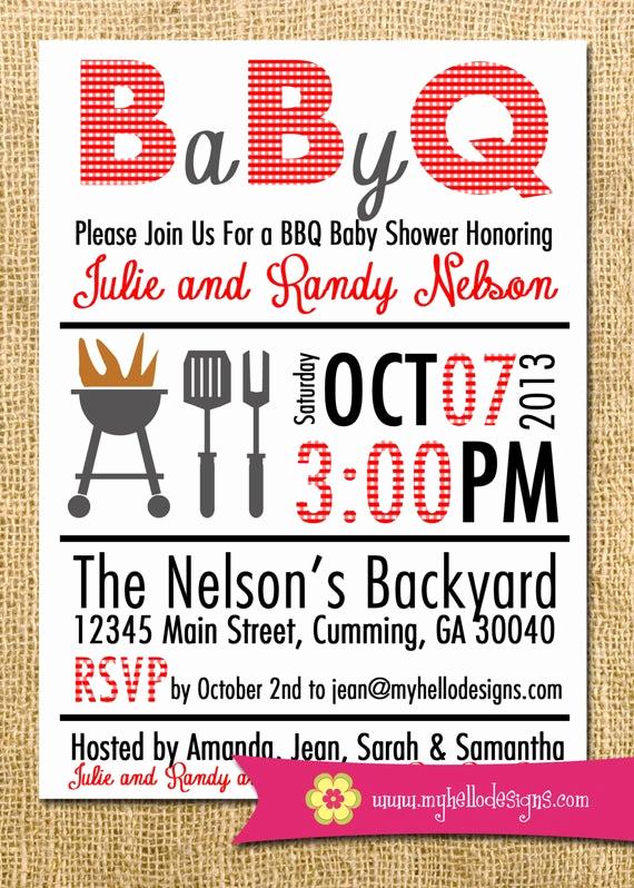 Bbq Invitation Wording Funny Awesome Printable Bbq Invitation Any Color Bination Backyard Bbq