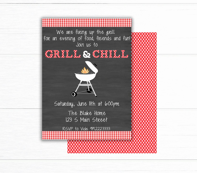 Bbq Invitation Wording Funny Elegant Backyard Bbq Invitation Printable Barbecue Invite Bbq