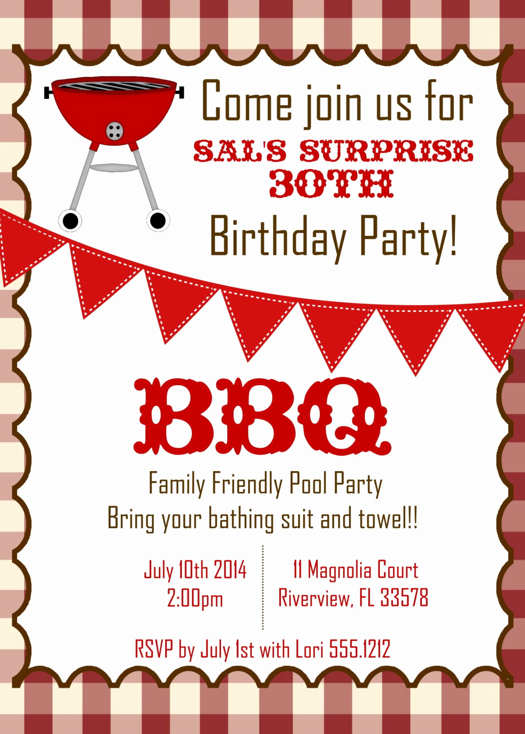 Bbq Invitation Wording Funny Fresh Bbq Birthday Invitations