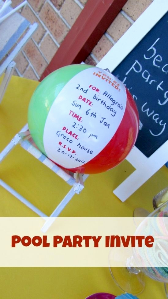 Beach Party Invitation Ideas Beautiful 25 Best Ideas About Beach Party Invitations On Pinterest