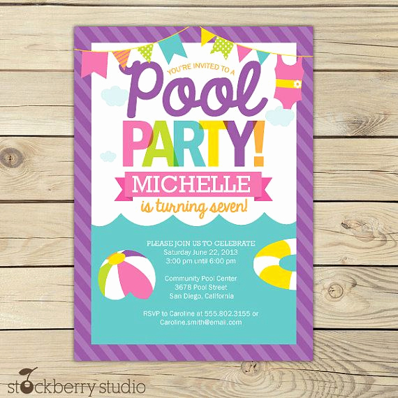 Beach Party Invitation Ideas Best Of 25 Best Ideas About Beach Party Invitations On Pinterest