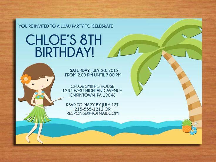 Beach Party Invitation Ideas Fresh Best 25 Beach Party Invitations Ideas On Pinterest