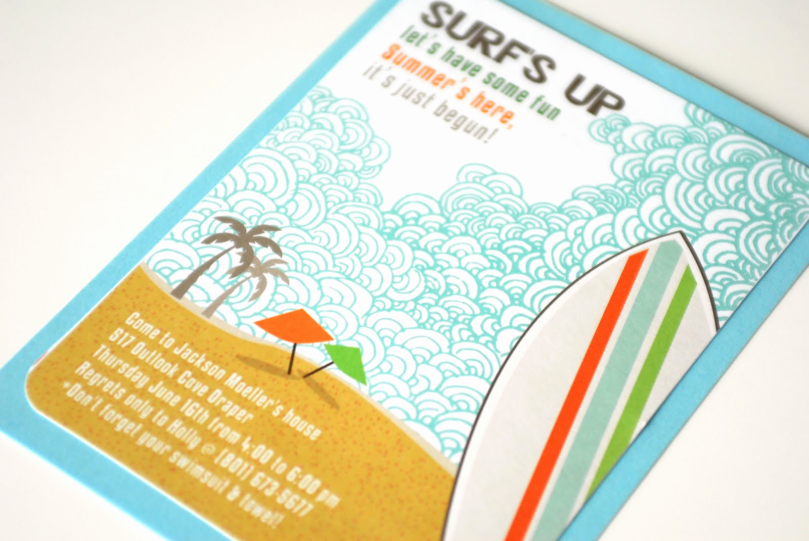Beach Party Invitation Ideas Fresh Kara S Party Ideas Surf S Up Summer Pool Party