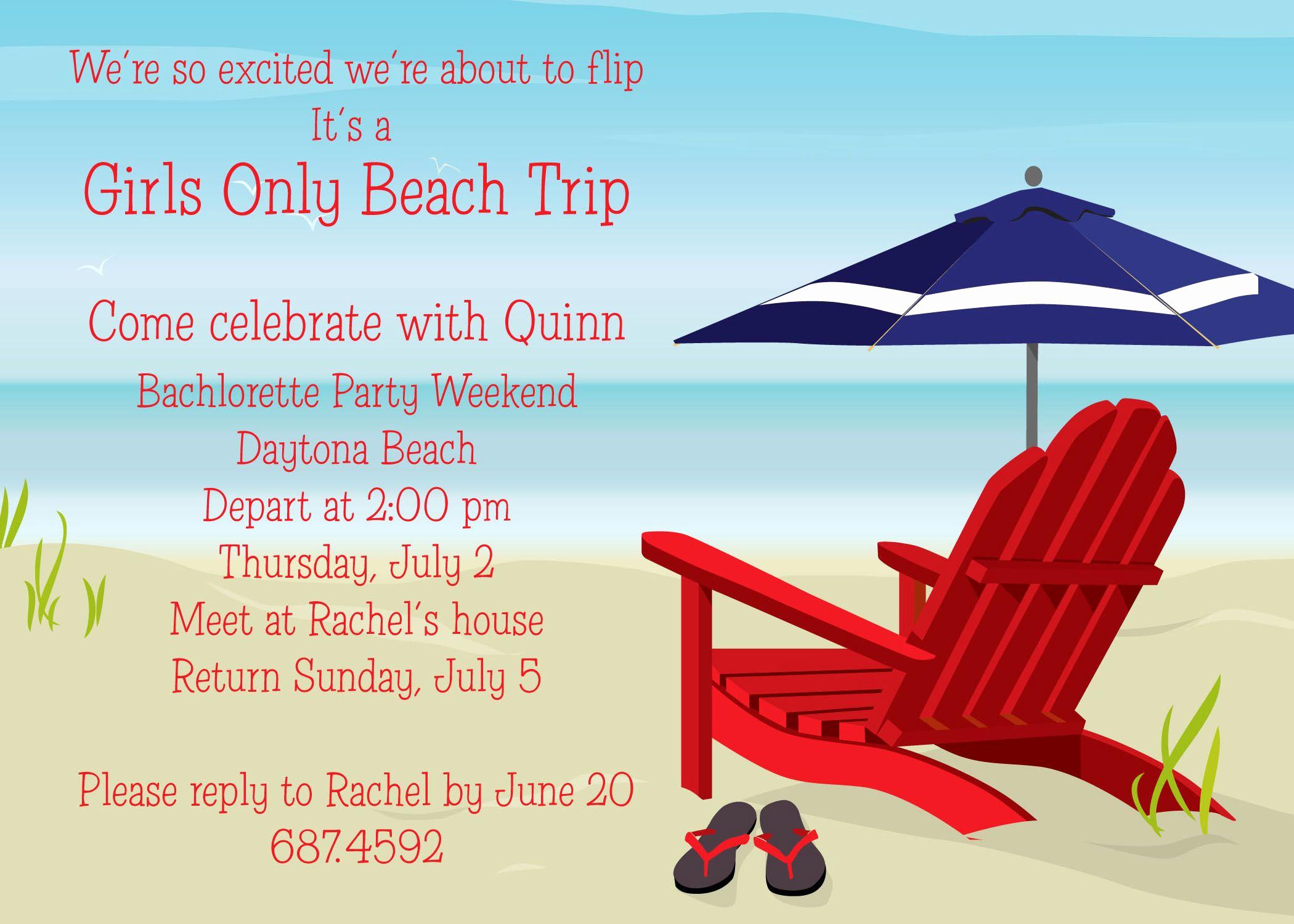 Beach Party Invitation Ideas New Beach Party Invitation Card and Invitation Ideas