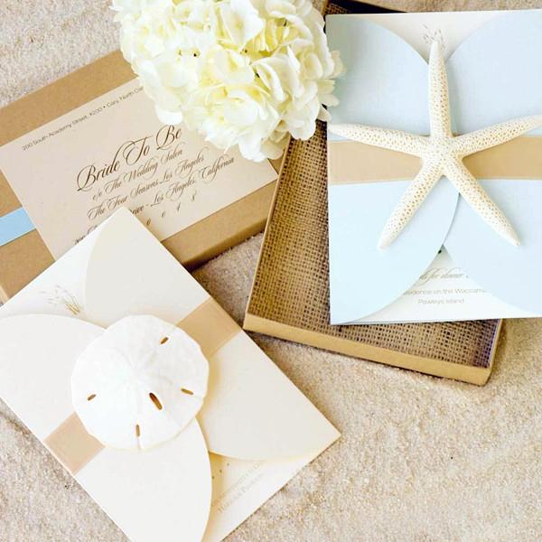 Beach Wedding Invitation Ideas Fresh Seal and Send Beach Wedding Invitations to Set the tone
