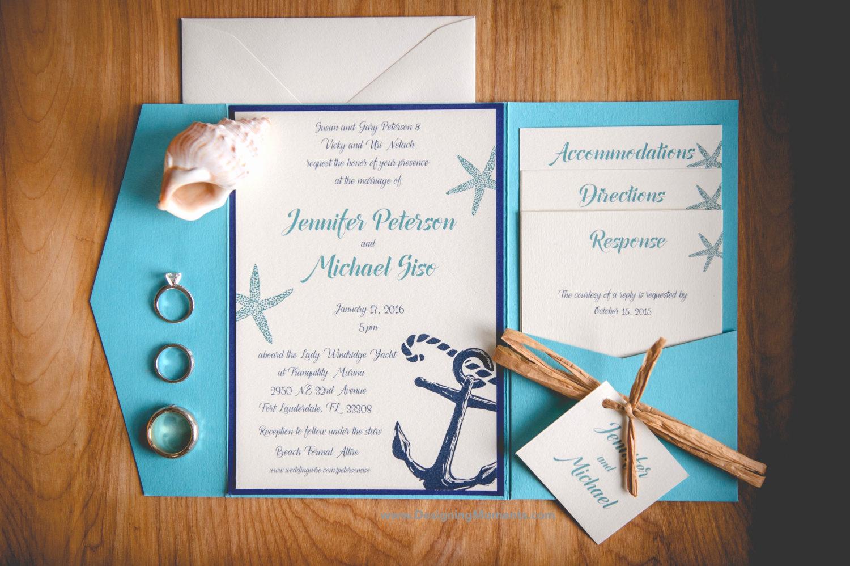 Beach Wedding Invitation Ideas New Spread the Word with Stylish and original Beach Wedding