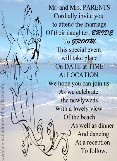 Beach Wedding Invitation Wording Fresh Beach Wedding Invitation Ideas