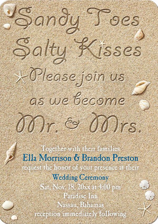 Beach Wedding Invitation Wording Inspirational 20 Popular Wedding Invitation Wording & Diy Templates Ideas