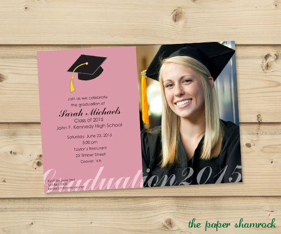 Best Graduation Invitation Designs Inspirational 14 Best Images About Graduation Invitation Ideas On