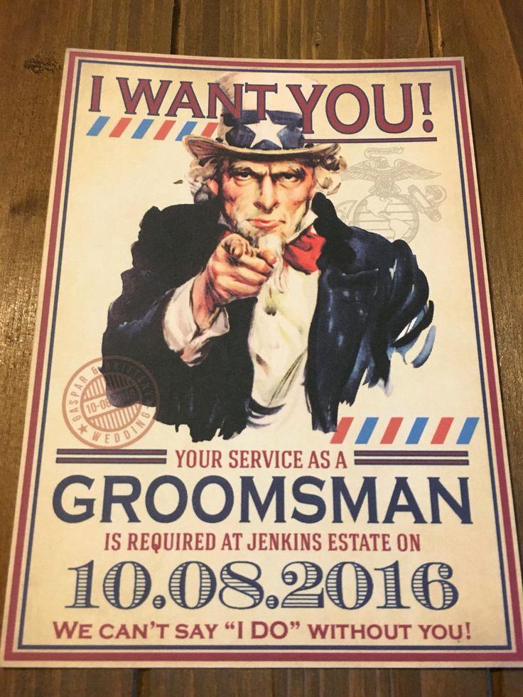 Best Man Invitation Ideas Beautiful Best 25 Groomsmen Invitation Ideas On Pinterest