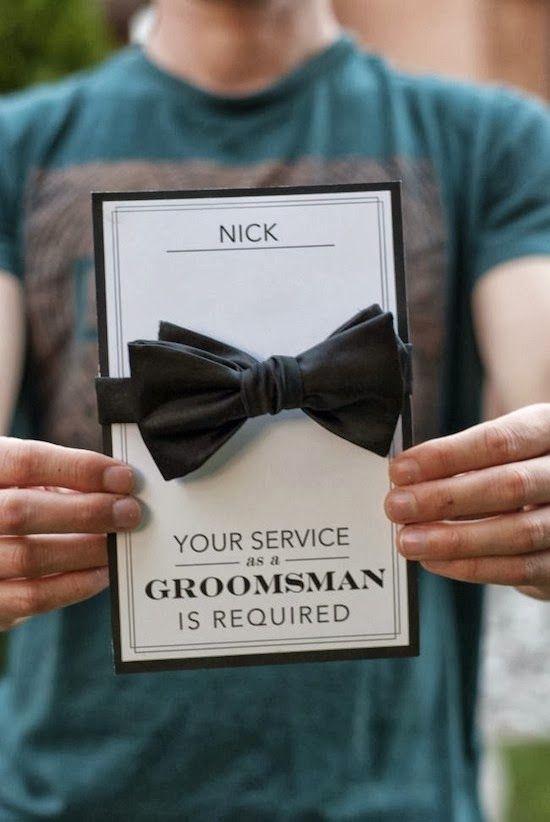 Best Man Invitation Ideas Elegant Best 25 Groomsmen Invitation Ideas On Pinterest