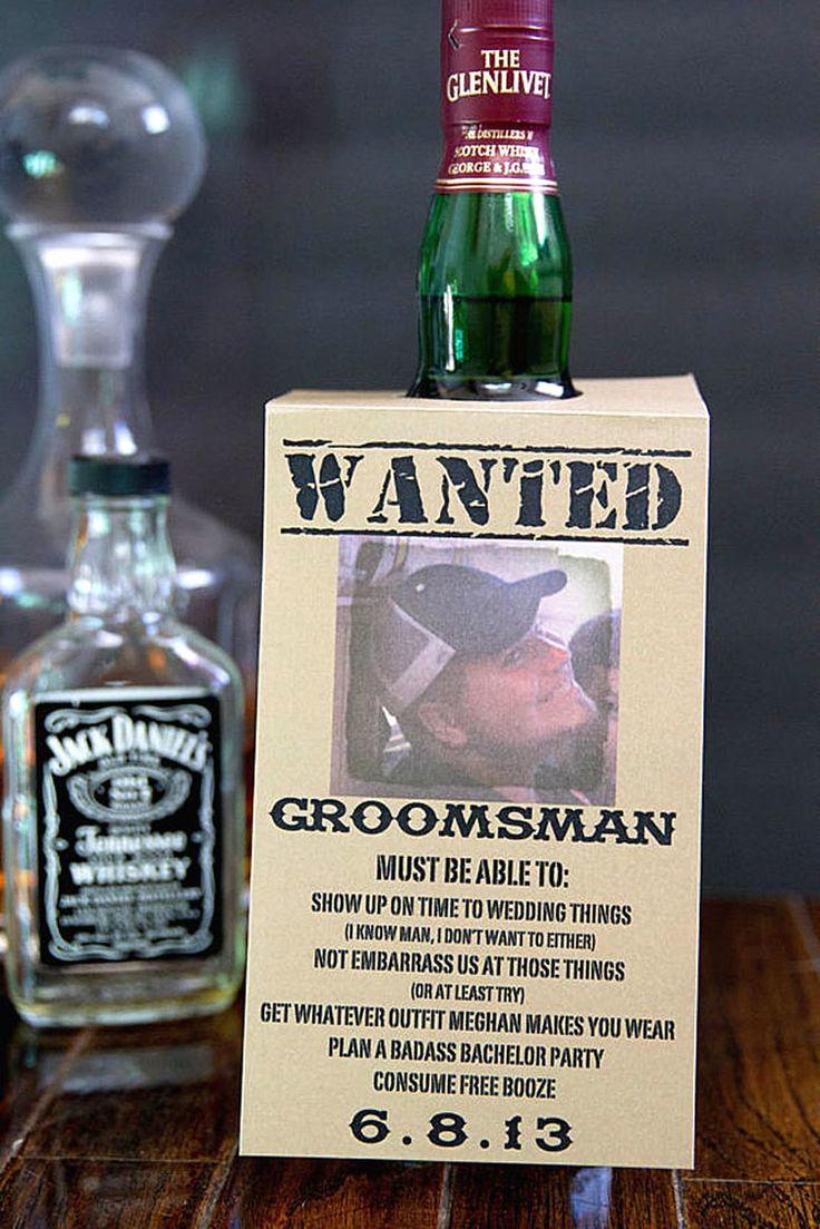 Best Man Invitation Ideas Lovely Best 25 Groomsmen Invitation Ideas On Pinterest