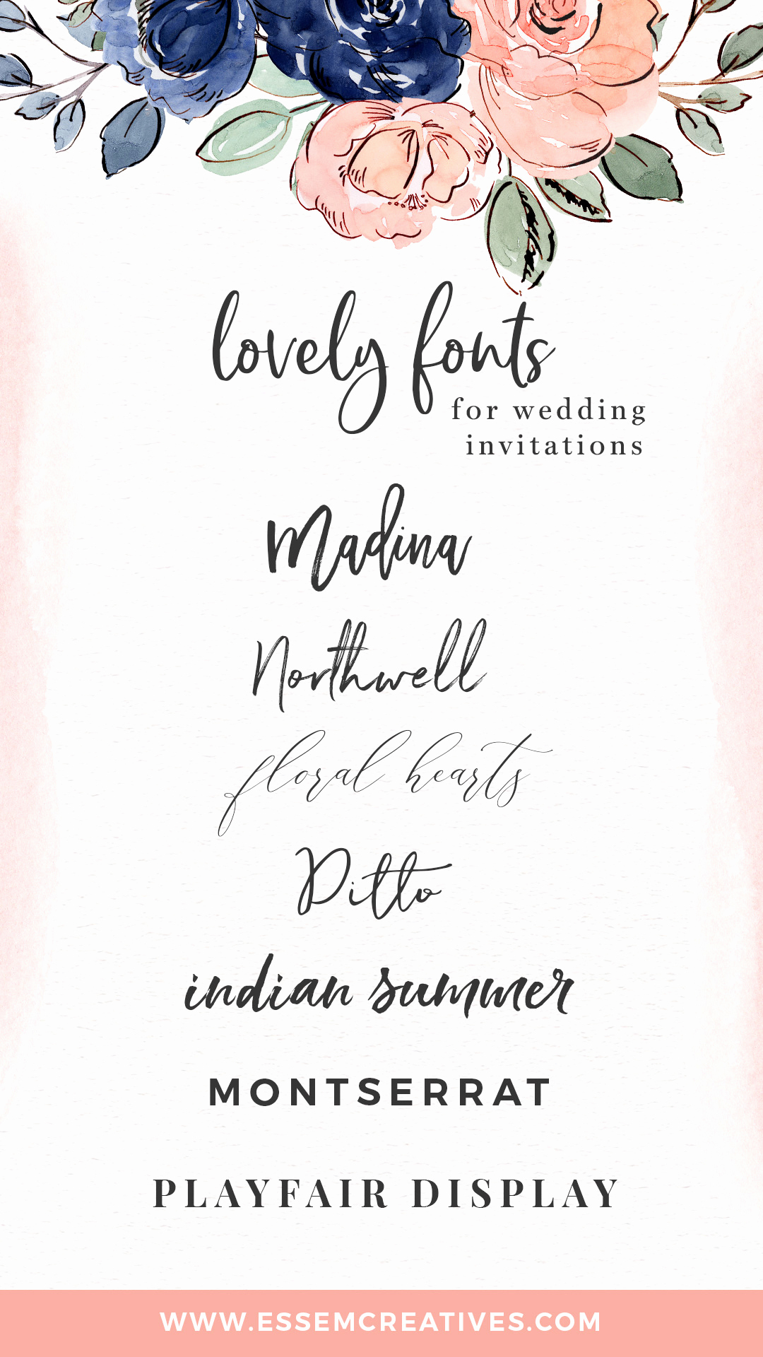 Best Wedding Invitation Designs Inspirational My Favorite Fonts for Wedding Invitation Designs Essem