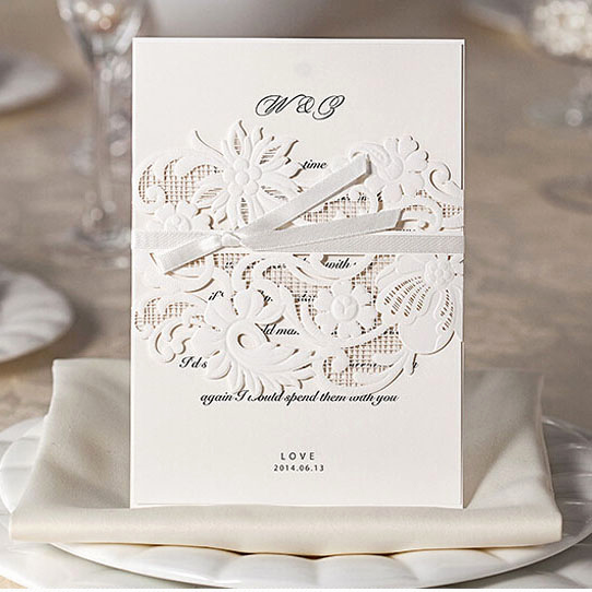 Best Wedding Invitation Designs Lovely Laser Cut Wedding Invitations Free Shipping